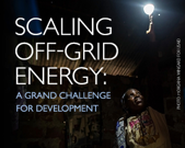 Scaling Off Grid Energy